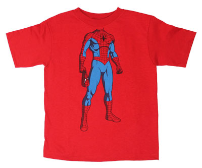 Spider-Man Body - Marvel Comics Juvenile T-shirt
