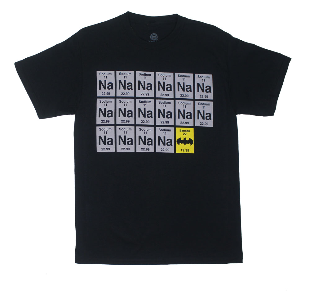 Sodium Batman - DC Comics T-shirt