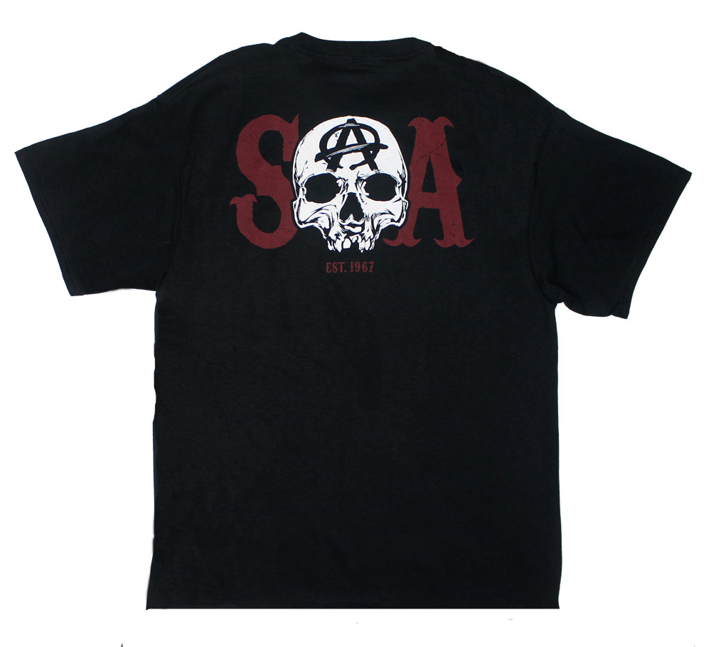 SOA Reaper Charge - Sons Of Anarchy T-shirt
