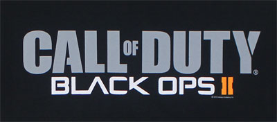 Logo - Call Of Duty Black Ops II T-shirt