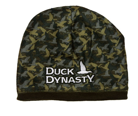 Brown And Camouflage - Duck Dynasty Reversible Knit Hat