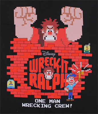 One Man Wrecking Crew - Wreck-It Ralph Youth T-shirt