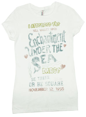 Enchantment Under the Sea - Back To The Future Sheer Women's T-shirt