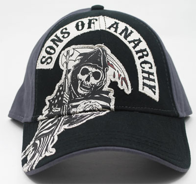 Full Scale Logo - Sons Of Anarchy Fitted Baseball Cap