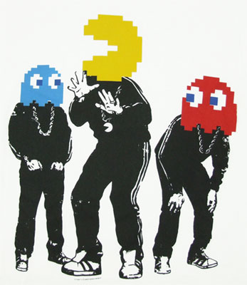 Pac-DMC - Pac-Man T-shirt