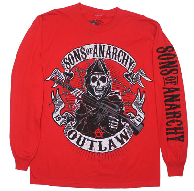 Outlaw - Sons Of Anarchy Long Sleeve T-shirt