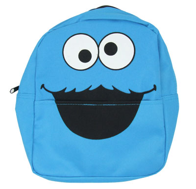 Cookie Monster Face - Sesame Street Mini-Backpack