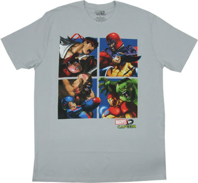 Pound For Pound - Marvel Vs. Capcom Sheer T-shirt