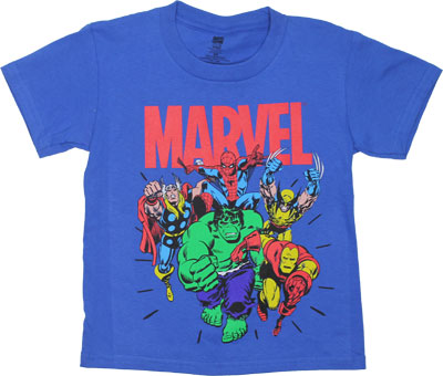 Marvel - Marvel Comics Juvenile T-shirt