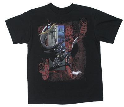 Justice - Dark Knight Rises Youth T-shirt
