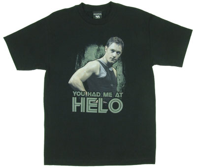 You Had Me At Helo - Battlestar Galactica T-shirt