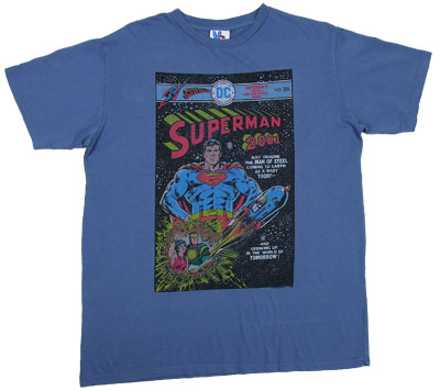 Superman Comic Cover - Junk Food Men's T-shirt