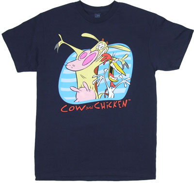 Open Arms - Cow And Chicken T-shirt