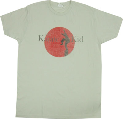Karate Kid Logo (Faded) - Karate Kid Sheer T-shirt