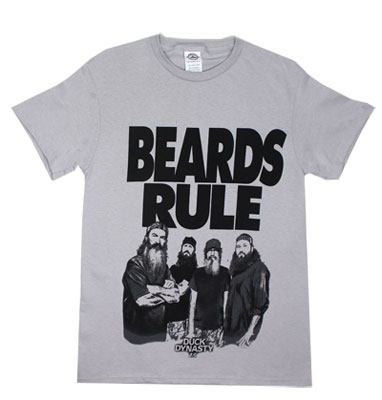 Beards Rule - Duck Dynasty T-shirt