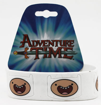 Finn Face - Adventure Time Wristband