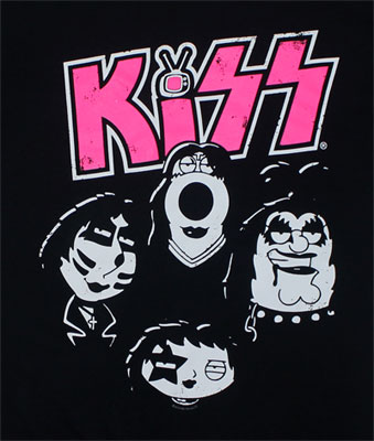 Kiss Heads - Family Guy T-shirt