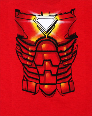 Iron Man Costume - Marvel Comics Toddler T-shirt
