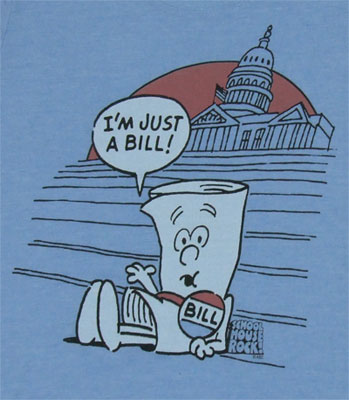 I'm Just A Bill - Schoolhouse Rock Sheer Women's T-shirt