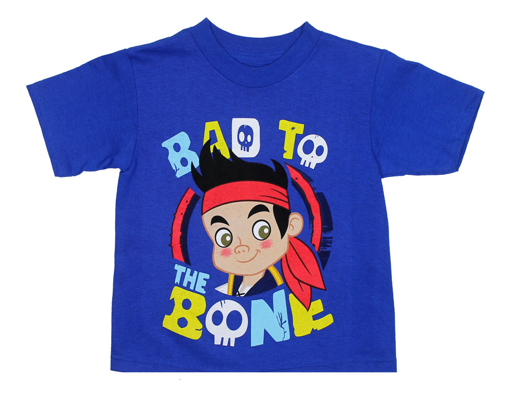 Bad To The Bone - Jake And The Neverland Pirates Toddler T-shirt