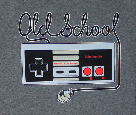 Old School - Nintendo Long Sleeve T-shirt
