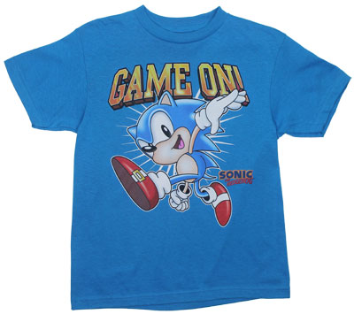 Game On! - Sonic The Hedgehog Youth T-shirt