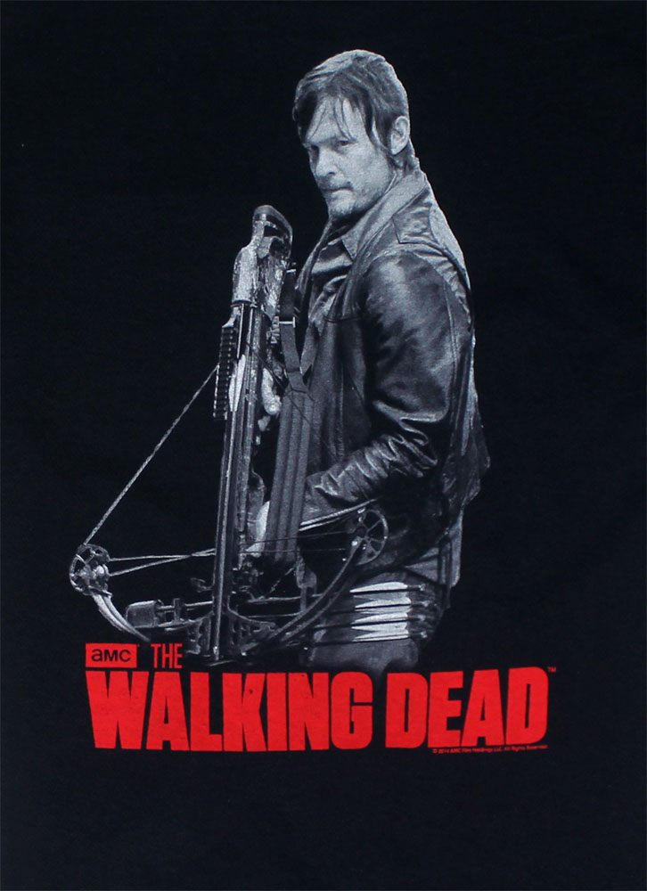 Daryl With Crossbow Two-Sided - Walking Dead T-shirt