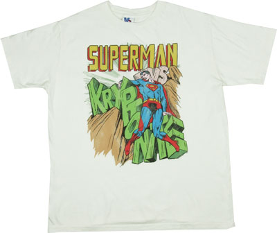 Superman Vs. Kryptonite - Junk Food Men's T-shirt