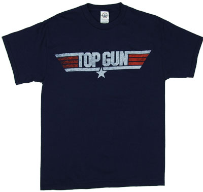 Top Gun Logo - Top Gun T-shirt
