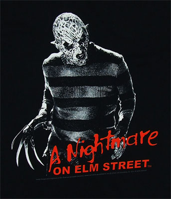 Freddy Snarl - Nightmare On Elm Street T-shirt