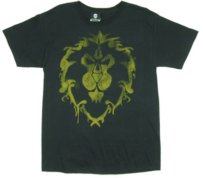 Alliance Logo - World Of Warcraft T-shirt