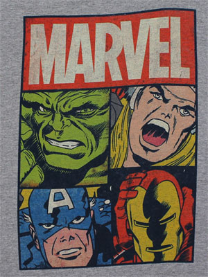 Four Faces - Marvel Comics Youth T-shirt