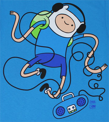 Dancing Finn - Adventure Time T-shirt