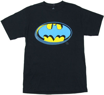 Extruded Batman Logo - DC Comics T-shirt
