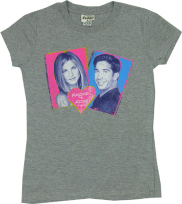 Rachel + Ross 4-Eva - Friends Sheer Women&#039;s T-shirt