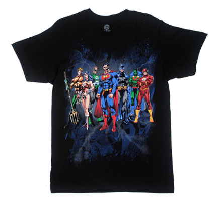 Justice League Elite Line Up - DC Comics T-shirt