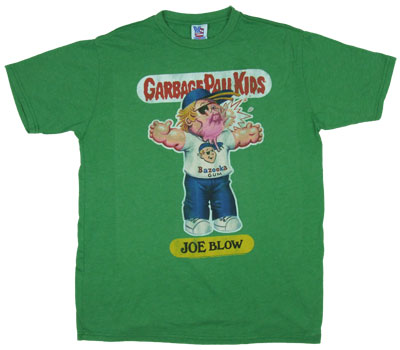 Joe Blow - Garbage Pail Kids - Junk Food Men&#039;s T-shirt