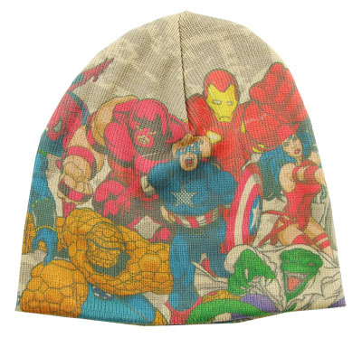Marvel Characters - Marvel Comics Knit Hat