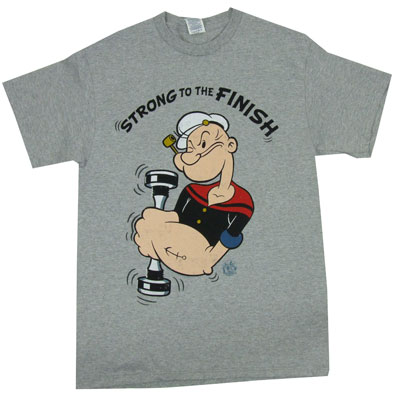 Strong To The Finish - Popeye T-shirt