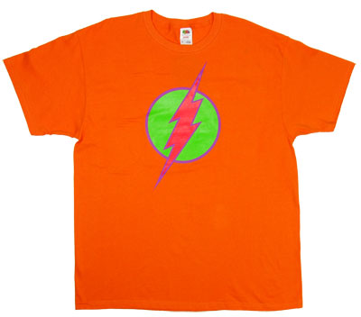 Bright Flash Logo - DC Comics T-shirt