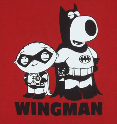 Wingman - Family Guy T-shirt