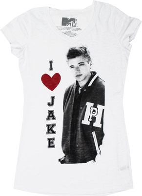 I Heart Jake - Awkward Sheer Women's T-shirt