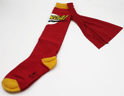 Bazinga! - Big Bang Theory Women's Caped Socks