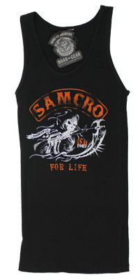 Samcro For Life - Sons Of Anarchy Women's Tank Top