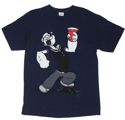 Party Cup - Popeye T-shirt