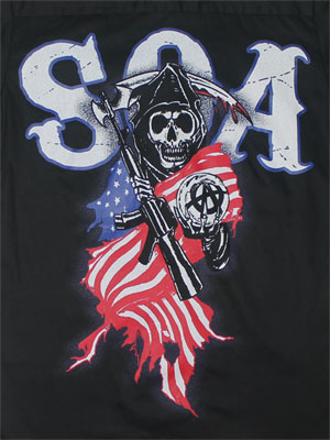 Americana - Sons Of Anarchy T-shirt