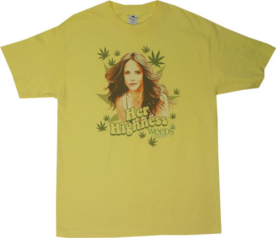 Her Highness - Weeds T-shirt