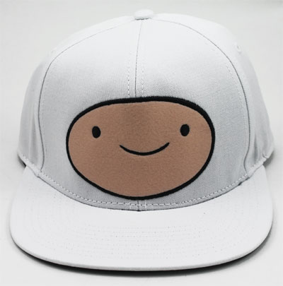 Finn Face - Adventure Time Baseball Cap