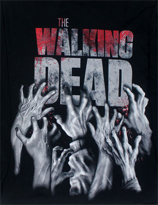 I'm Infected - Walking Dead Long Sleeve T-shirt