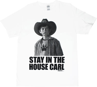 Stay In The House Carl - Walking Dead T-shirt